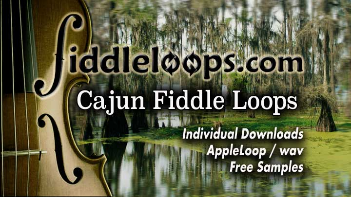 Free Cajun Fiddle Loop Samples